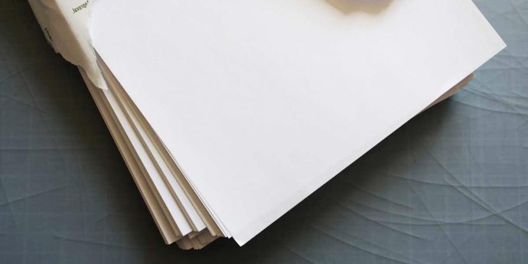 6 tipos de papel m s usados por las imprentas en lima - Papel pared blanco ...